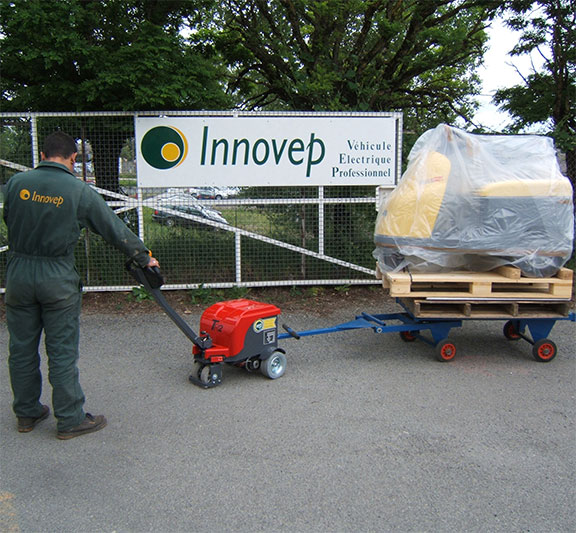 Innovep Véhicule Debout Accompagnant TR 15-20