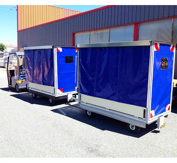 Innovep Logistique Remorque Spéciale