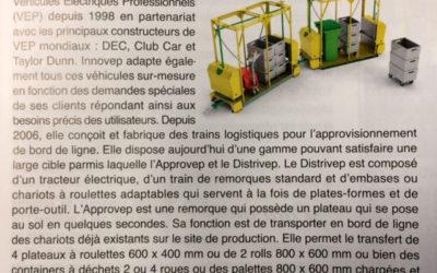 Presse – Les petits trains d'Innovep