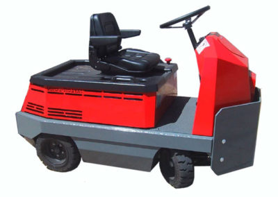 Huskey T13 : tracteur assis