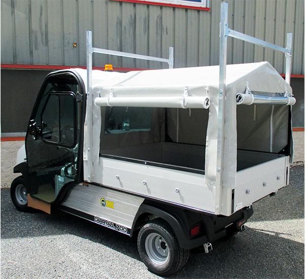 Innovep Véhicule Utilitaire Club Car Carryal 700