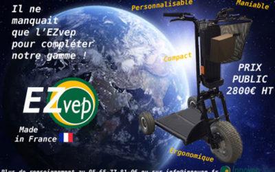 Nouveauté – Le EZVep complète la gamme Innovep